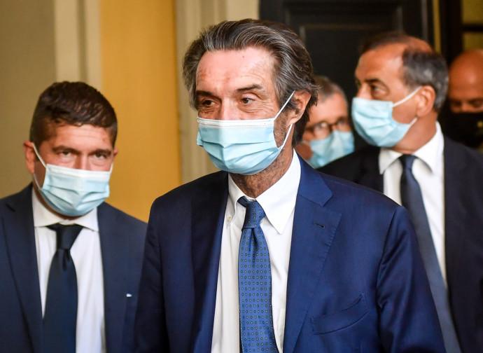 Attilio Fontana (presidente Lombardia) e Giuseppe Sala (sindaco Milano)