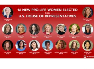 Grazie a Trump: elette 17 pro life senza compromessi