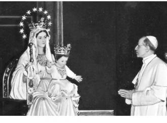 Cosa accadde quando il papa pronunciò il dogma mariano