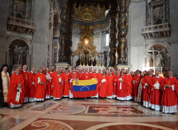 I vescovi venezuelani in Vaticano