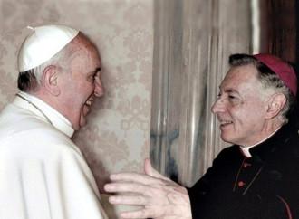 Papa Francesco e mons. Aguer