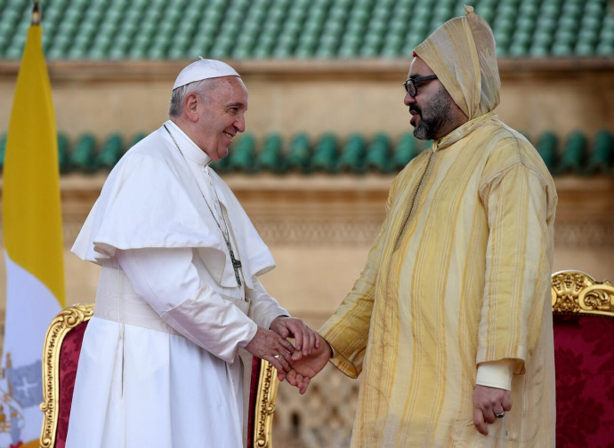 Papa Francesco e re Mohammed VI