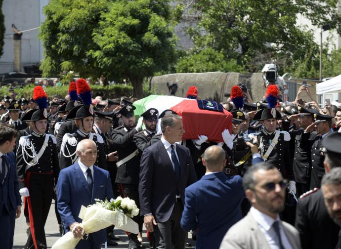 Il funerale di Mario Cerciello Rega