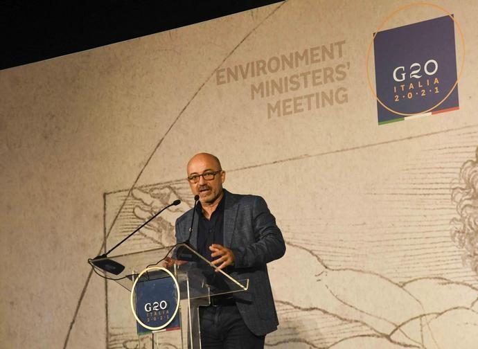 Il ministro Cingolani al G20 Ambiente