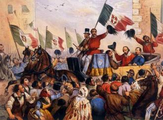Come Garibaldi a Napoli nel 1860
