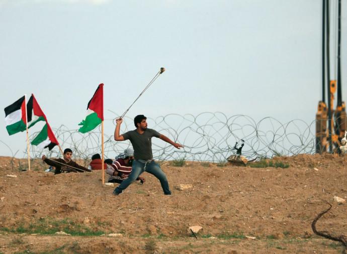 Gaza, manifestazioni al confine