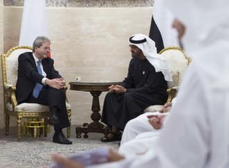 Gentiloni negli Emirati, una risposta attesa