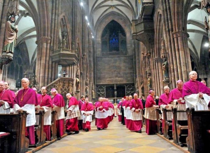 Vescovi tedeschi in cattedrale