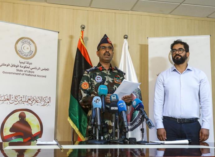 Gharyan, Libia: conferenza stampa dei vincitori