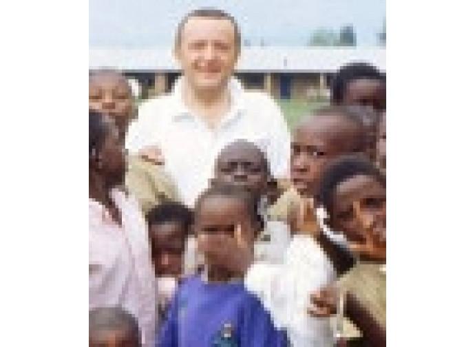 Piero Gheddo in Africa