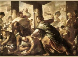Piange e sferza: Gesù è così buono che non è buonista
