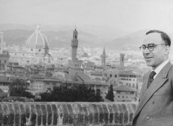 Giorgio La Pira e i tetti di Firenze