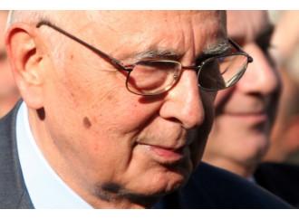 Quirinale, si sacrifica Napolitano