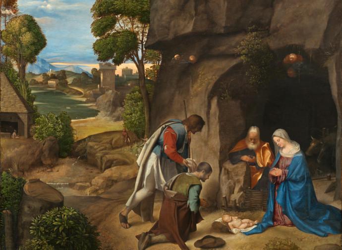 Giorgione, Adorazione dei pastori