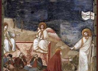 Noli me tangere, il lieto dramma in blu di Giotto