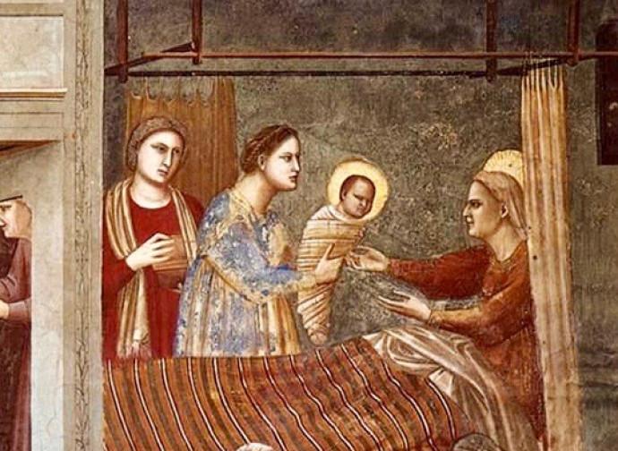 Natività di Maria, Giotto