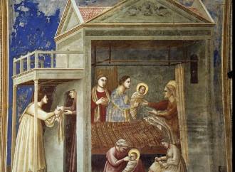 La nascita di Maria, colei che sorge come aurora