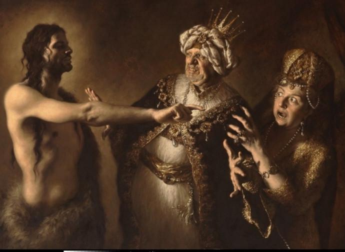 Amoris laetitia. San Giovanni Battista ammonisce l'adulterio di Erode Antipa ed Erodiade