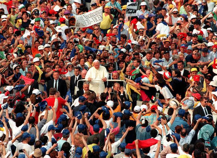 L'incontro dei movimenti con Giovanni Paolo II