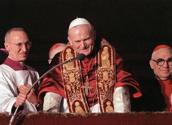 Giovanni Paolo II, appena eletto