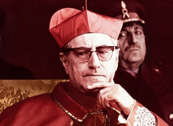 Il cardinale Giuseppe Siri