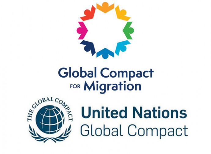 Il logo del Global Compact