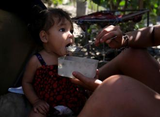 Con le scuole chiuse a causa della pandemia aumenta la malnutrizione tra i bambini
