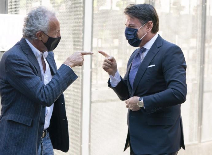 Peter Gomez e Giuseppe Conte