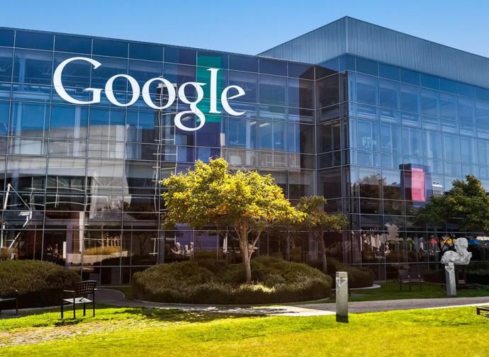 Lo stato maggiore di Google a Mountain View