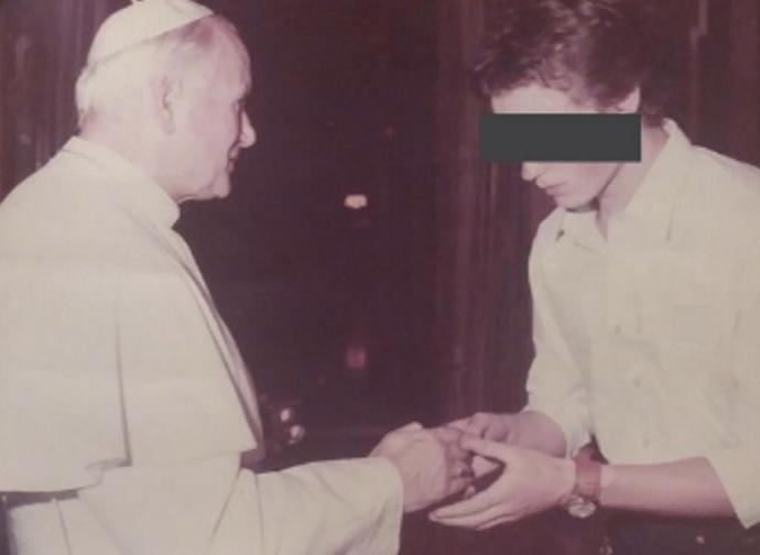 RS con san Giovanni Paolo II