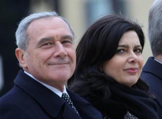 Gli arbitri che giocano: Grasso e Boldrini candidati