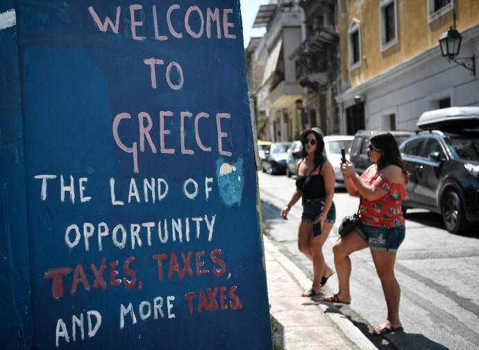"""""""Benvenuti in Grecia, terra di opportunità: tasse, tasse e ancora tasse"""""""