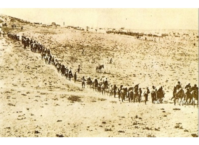 La deportazione dei cristiani armeni