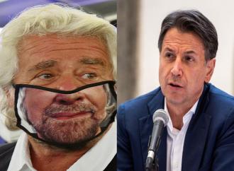 Grillo vs Conte, il comico ridicolizza il suo Movimento