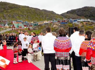 I principi di Danimarca in visita in Groenlandia