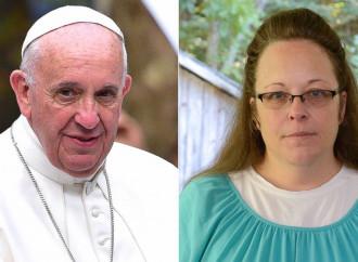 """""""Ecco come andò tra il Papa e la paladina anti nozze gay"""""""
