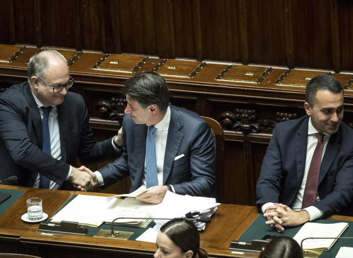 Gualtieri, Conte e Di Maio