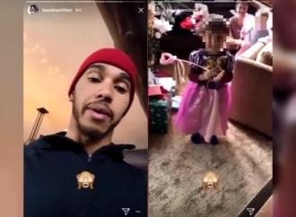 Hamilton rimprovera il nipote vestito da principessa e poi chiede scusa