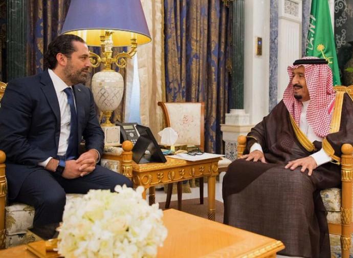 Hariri in Arabia Saudita