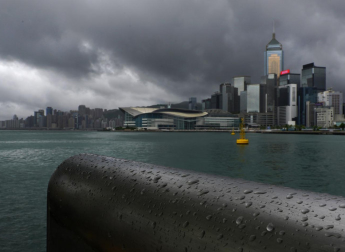 Tempesta su Hong Kong