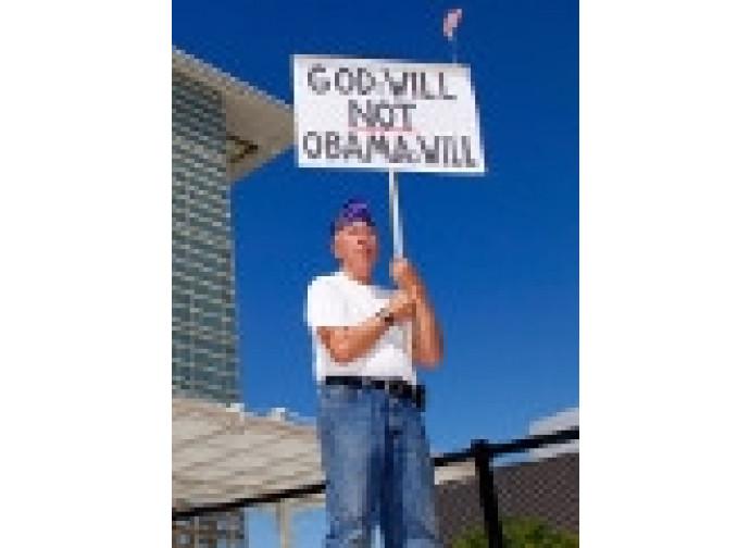 """""""La volontà di Dio, non quella di Obama"""""""