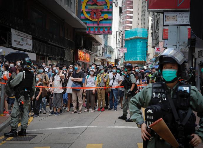Manifestazioni a Hong Kong