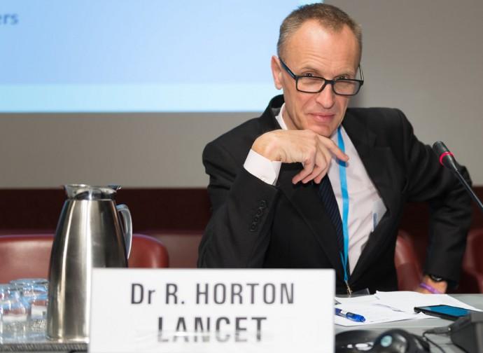 Richard Horton, direttore di The Lancet