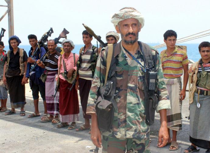 Miliziani Houthi nello Yemen