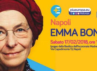 Il tour di Emma fa tappa nella Basilica dei napoletani
