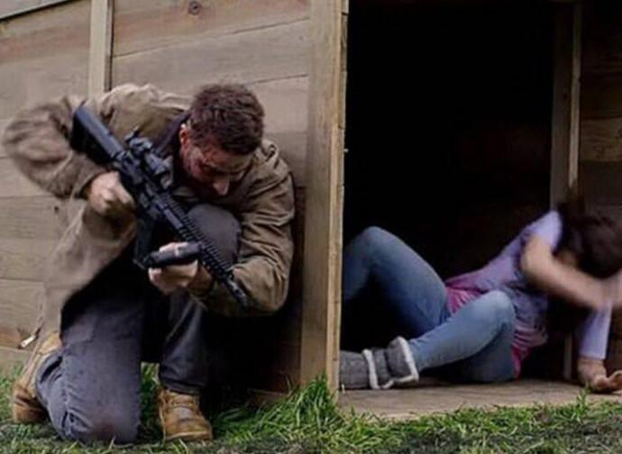 The Hunt, una scena del film