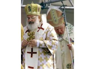 L'omaggio di Francesco al padre spirituale dell'Ucraina