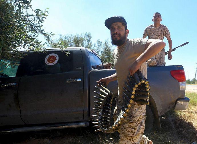 In preparazione della battaglia di Tripoli