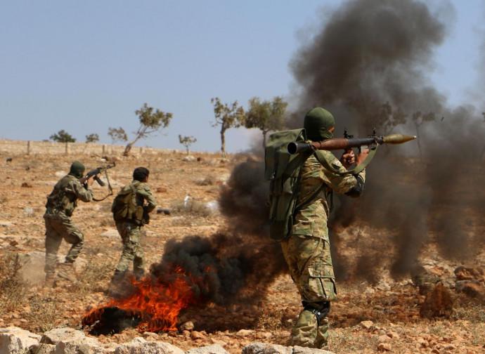Milizie ribelli a Idlib