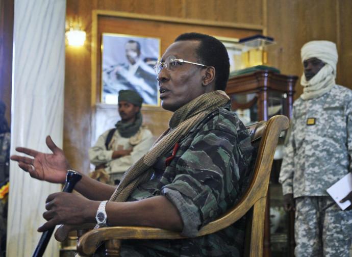 Idriss Deby Itno, presidente del Chad